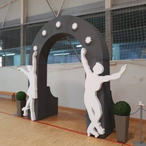 Eurorot | Porexpan Figuras Corporeas Lacadas Decoracion Eventos
