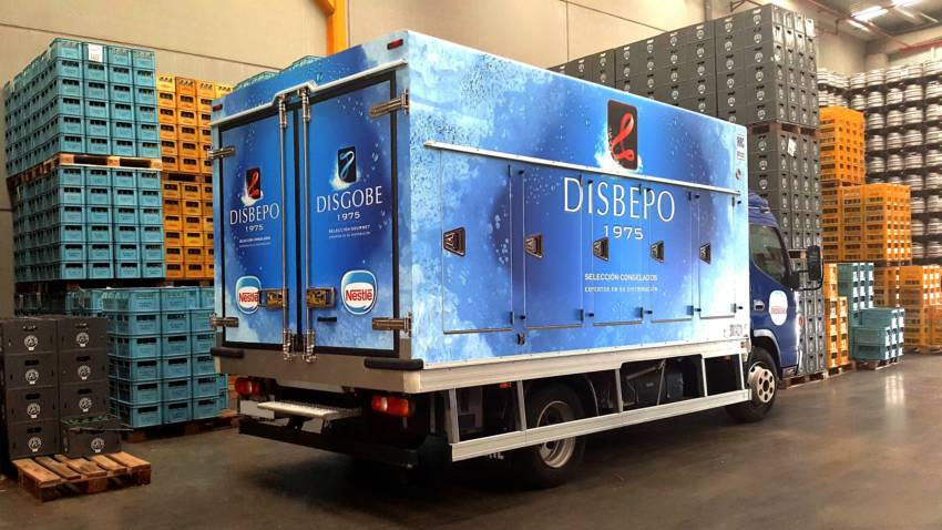 Eurorot | Camion Vehiculo Vinilo Impreso Rotulacion Corporativo