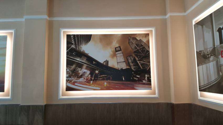 Eurorot | Cuadro Luminoso Impresion Decoracion Interiror Diseño Grafico