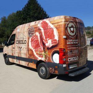 Eurorot | Furgoneta Vinilo Impreso Rotulacion Publicidad
