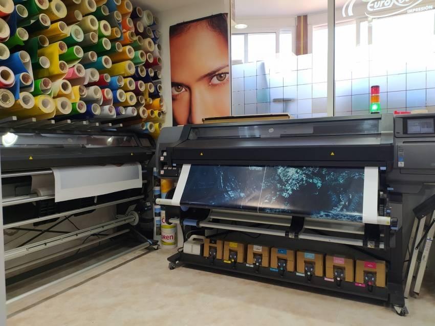 Eurorot | Impresion Digital Latex Hp 570 360 Gran Formato Vinilo Lona Produccion Servicios Graficos