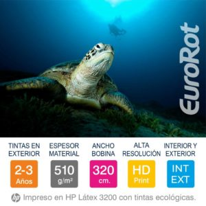 Eurorot | Lona Premium 1 Cara