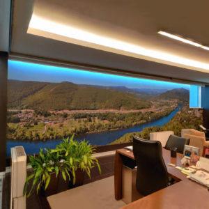 Eurorot   Murales Impresos Gran Formato Decoracion Interior Despacho