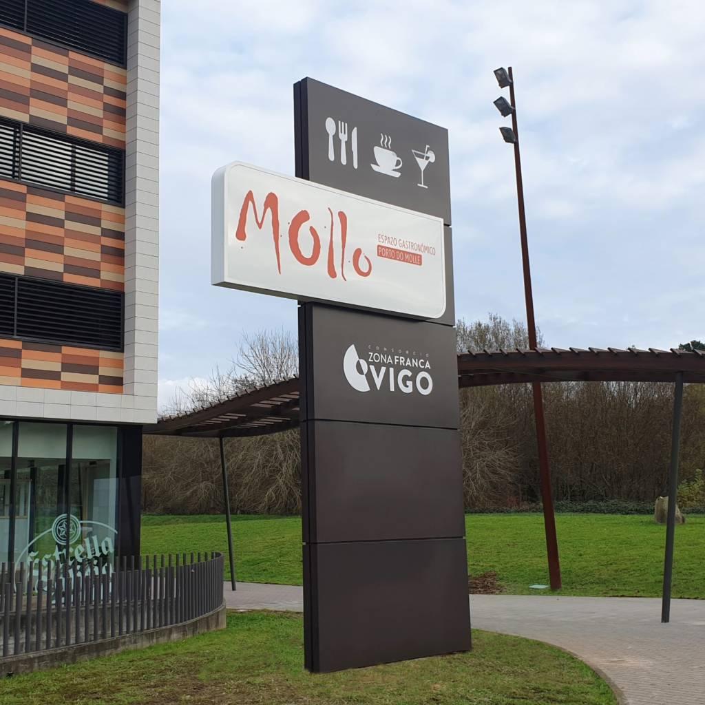 Eurorot | Monolitos Totems Gran Formato Rotulacion Fachada Rotulo